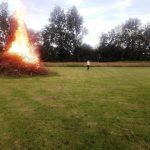 12. Inspektion rundt om bålet